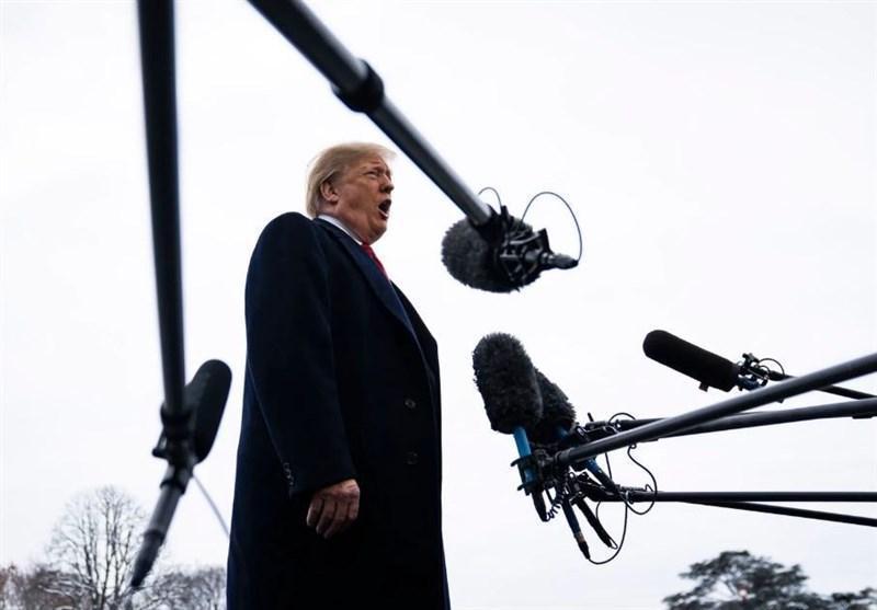 واکنش ترامپ به شروع رسمی فرایند استیضاح در سنا