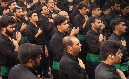 حسینیه ایران غرق در عزا و ماتم است