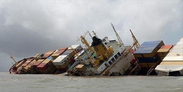 غرق شدن کشتی ایرانی بهبهان در آب های سرزمینی عراق