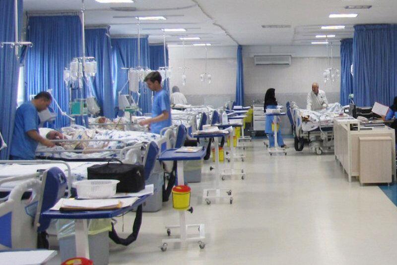 بحران در تعداد تخت های بیمارستانی در ایران ، قرارگاه خاتم 20روزه بیمارستان های سریع النصب می سازد