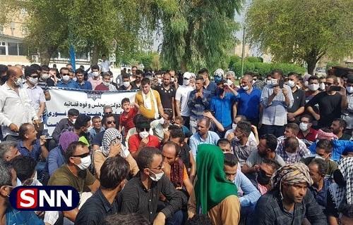 هیچ کس کارگران هفت تپه را برای تجمعات اعتراضی مواخذه نکند