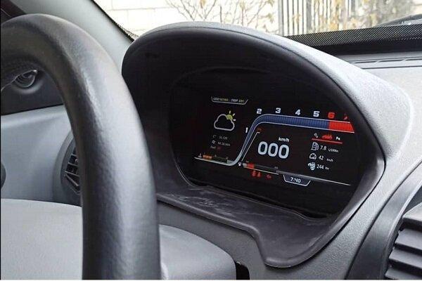 داشبورد دیجیتال خودرو ساخته شد، قابلیت نصب روی خودروهای داخلی